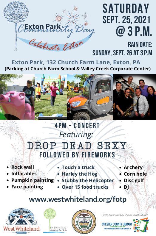 2021 West Whiteland Township Community Day