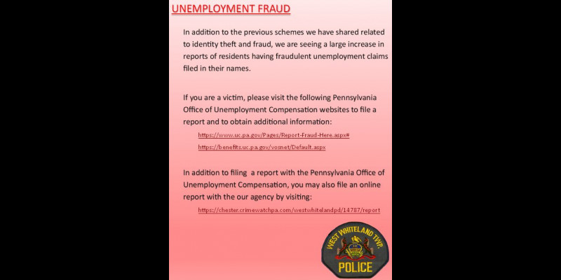 Image for Unemployment Fraud
