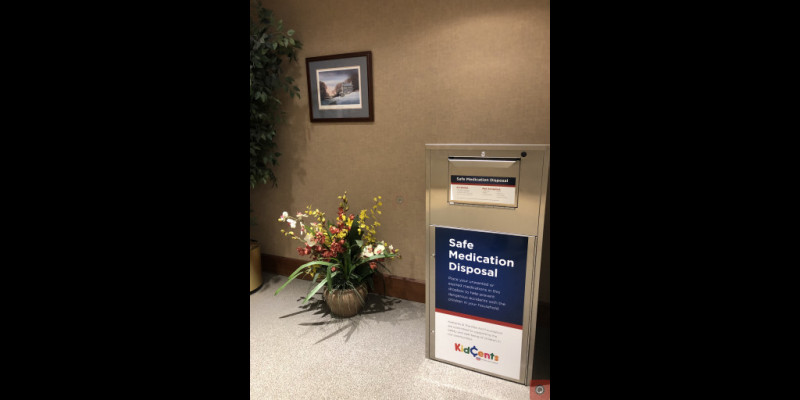Image for New Drug Collection Box at East Goshen Township Building is a Success!