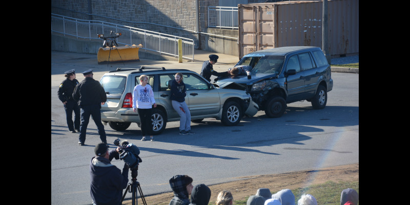 Image for Rustin High School Mock Crash