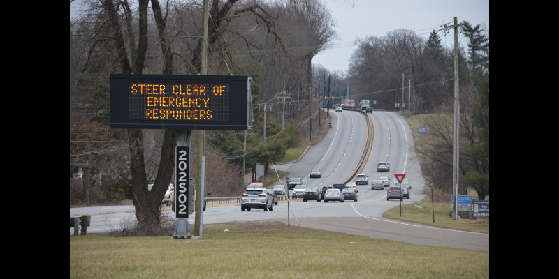 Image for THE WESTTOWN-EAST GOSHEN REGIONAL POLICE DEPARTMENT, CHESTER COUNTY HIGHWAY SAFETY PROJECT AND PENNDOT PARTNER ON STEER CLEAR/MOVE OVER DETAIL.